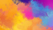 Abstract colorful oil painting background with brush strokes. Full frame digital oil painting on canvas, bright and vibrant colors. 4k resolution. Painting done by me.