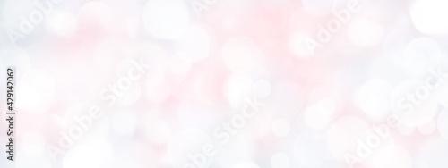 Fotografia, Obraz 黄色やグレーも入ったやさしいピンクの背景