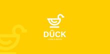 Duck Logo Vector Modern Icon Line Outline Monoline Illustration
