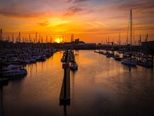 Sunrise Portsmouth Harbour