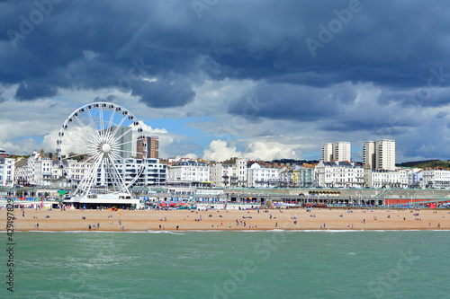 Fotografie, Tablou Beautiful shot of Brighton UK