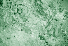 Decorative Stone As Green Marble For Interior, Marble Wall As Texture Or Background