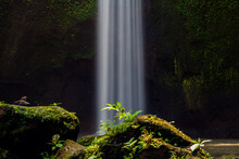 Beautiful View Of Hidden Waterfall