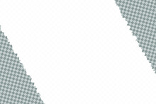 Vector Torn Paper Texture. Rip Page Border