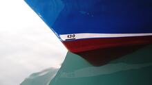 Draft Bow Keel Ship Anchored