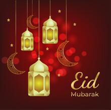 Eid Mubark - Green Background