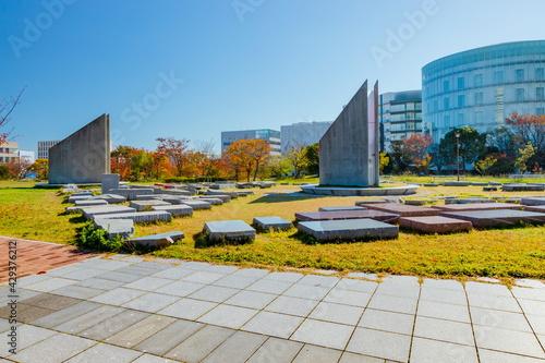 Fotografie, Obraz 晩秋のポートアイランド南公園 神戸市中央区港島にて