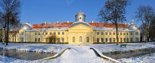 Pałac Maltzanów w Miliczu, obecnie Technikum Leśne