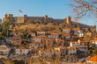 OHRID, NORTH MACEDONIA: The Old Fortress of King Samuel or Samuel's Stronghold in Ohrid, a UNESCO World Heritage Site