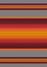 Mexican Serape Blanket Background. Ethnic Seamless Pattern. Traditional Folk Stripe Ornamental Texture.