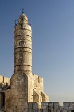 Tower Of David In Jerusalem, Israel