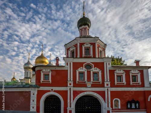 Tablou Canvas View to Holy Conception monastery in Moscow, Russia