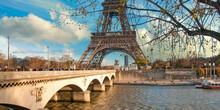 Eiffel Tower And Pont D'Iena, Paris