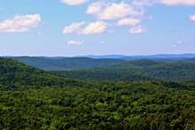 Landscape View Of Hot Springs National Park In Arkansas