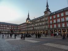 Plaza Mayo, Madrid, Spain.