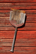 Ancient Shovel Of Some Kind Was Used In Agriculture In The Past