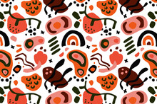 Hand Drawn Abstract Element Pattern_11
