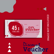 Creative Discounts Gift Voucher Template