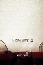 Project 1 Tittle