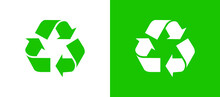 Recycle Symbol Icon. Flat Vector Recycling Or Recyclable Icon
