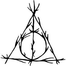 Deathly Hallows Tatto | Wizarding World