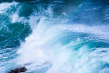 Wave Blue Sea Rough