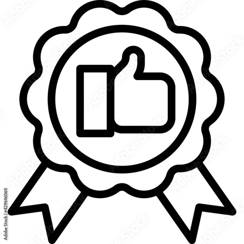 Obraz na plátně Rosette icon, Supermarket and Shopping mall related vector