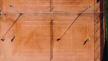 Tennis Giuocare Tennis Campo Tennis Terra Rossa