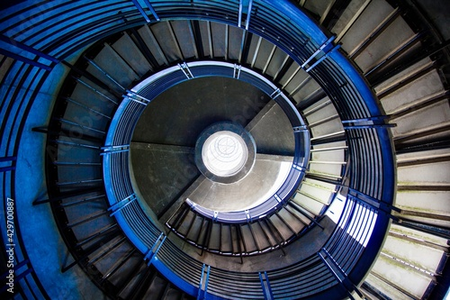 spiral staircase Fototapet