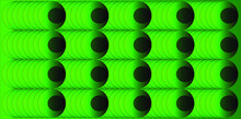 Green Ovals On A Rectangular Background. Use It For Textures And Illustrations.