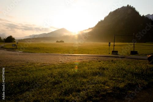 Photo Alps in Bavaria, near Tegelberg