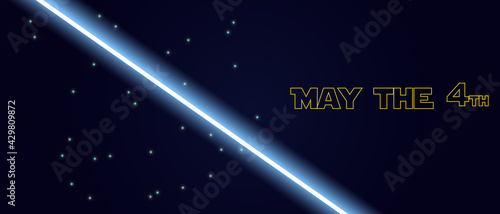 Foto May The 4th Be With You