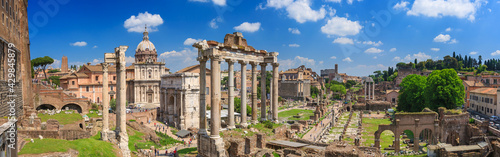 Obraz na plátně Roman Forum in Rome