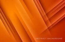 Modern Abstract Light Orange Gradient Background Vector. Elegant Concept Design. Eps10 Vector