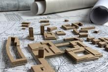 Plan Miasta, Projekt Urbanistyczny W Formie Makiety 3d