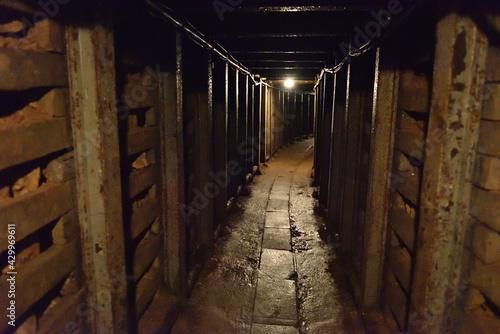 Obraz kopalnia - fototapety do salonu
