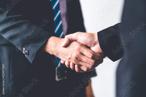 Photo Business people agreement concept