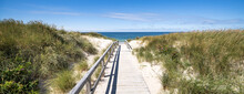 Dune Beach Panorama, Sylt, Schleswig-Holstein, Germany