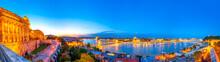 Panoramablick über Die Stadt Budapest, Ungarn