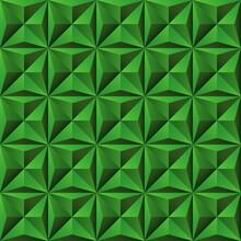 Nahtlos Hintergrund, Tapete, 3D-Wand - Quadrate Mit Dreiecken