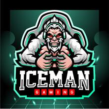 Yeti Gaming Mascot. Esport Logo Design