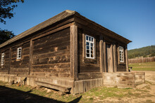 Fort Ross, Historic Russian Fort At Fort Ross State Park, California