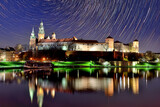 Fototapeta Miasto - Wawel Castle at night.