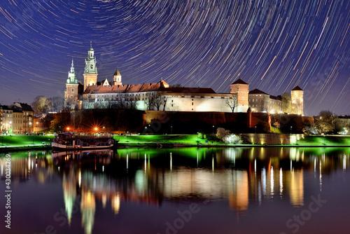 Fototapeta Wawel Castle at night. obraz