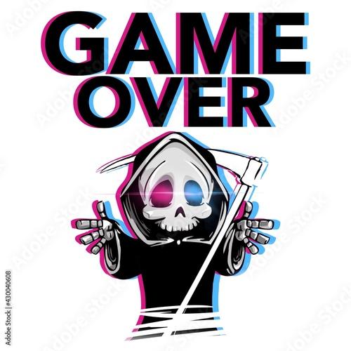 Photo Game over grim reaper