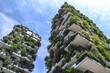 Leinwandbild Motiv Green building