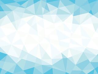 抽象幾何学模様イラスト背景素材ブルー