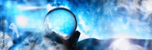 Astrological background Fototapet