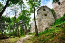 Ruins Of Castle Dobra Voda - Slovakia