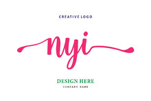 NYI  Lettering Logo Is Simple, Easy To Understand And Authoritative
